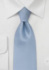 Extra Long Light Blue Tie