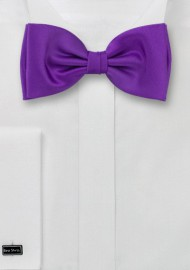 Purple bow ties  -  Solid color purple bow tie
