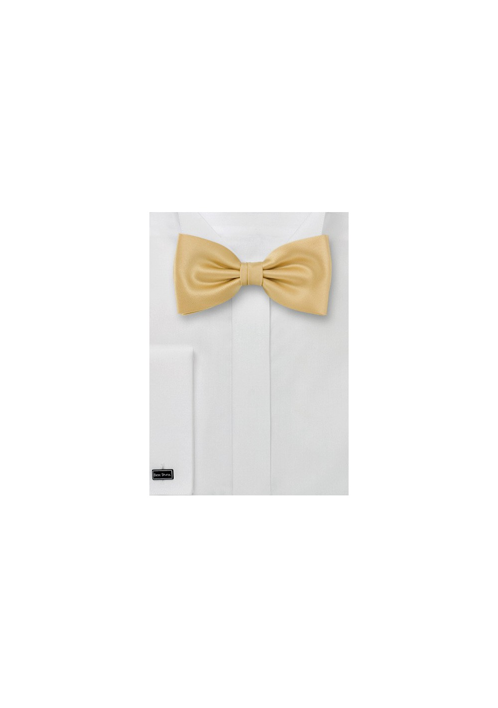 Bow ties  -  Solid color gold/yellow bow-tie