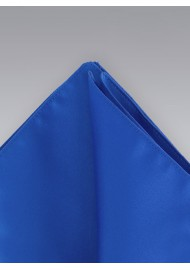 Pocket Squares - Royal blue colored hankie