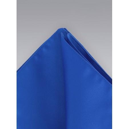 Pocket Squares - Royal blue colored hankie