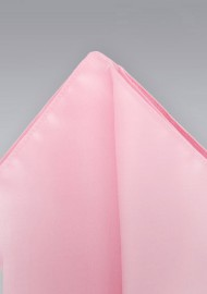 Pink Pocket Square -  Solid color pink hankie