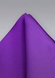 Pocket Squares -  Purple hankie