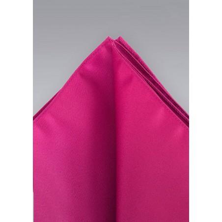 Dark pink pocket square