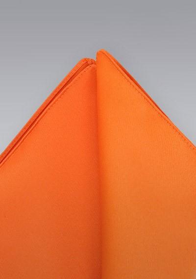 Pocket squares - Bright orange pocket square