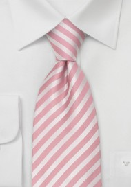 Kids Ties - Boys Pink Silk Tie