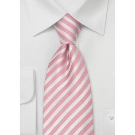 Kids Ties - Boys Pink Silk Tie