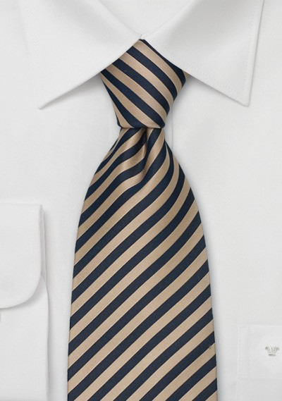 """Narrow Striped Ties - Striped Necktie """"Signals"""" by Parsely"""