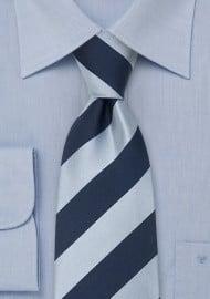 Blue Striped Neckties - Silk tie by Parsley