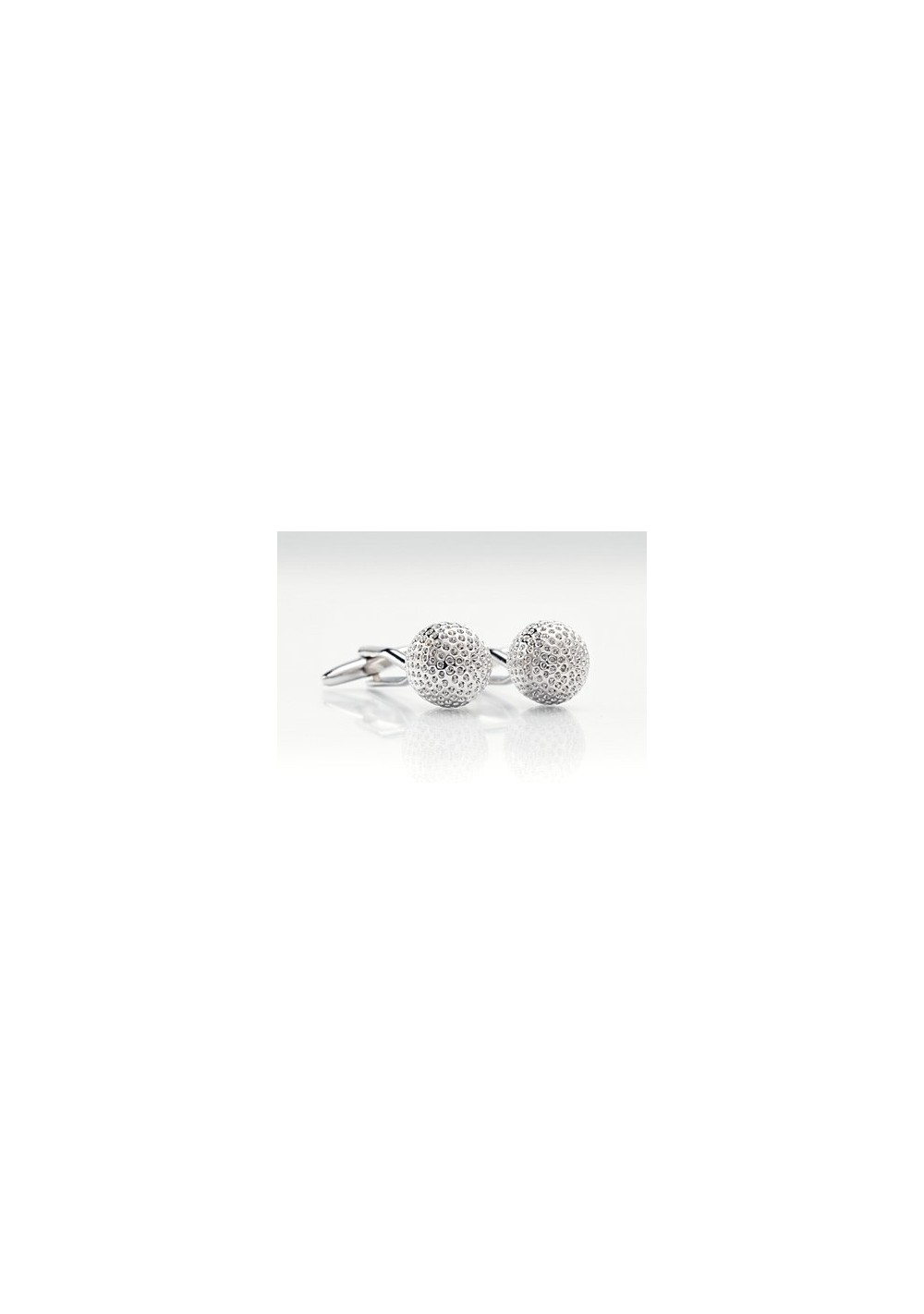 Golfball Cufflinks - Silver designer cufflinks by Mont Pellier