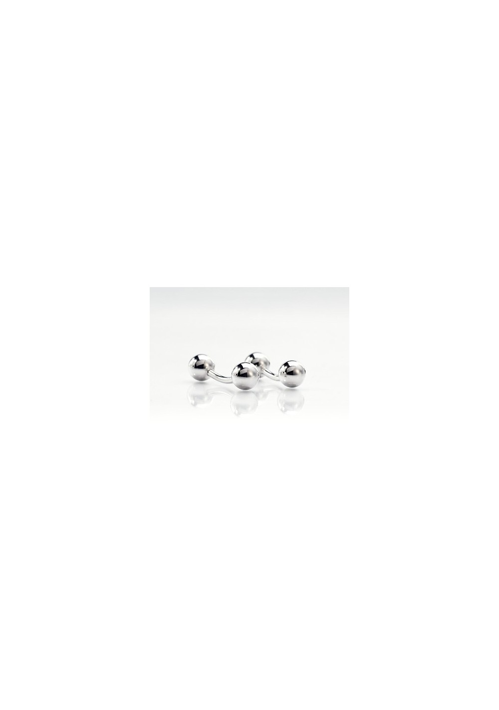 Silver Cufflinks - Designer Cufflinks by Mont Pellier
