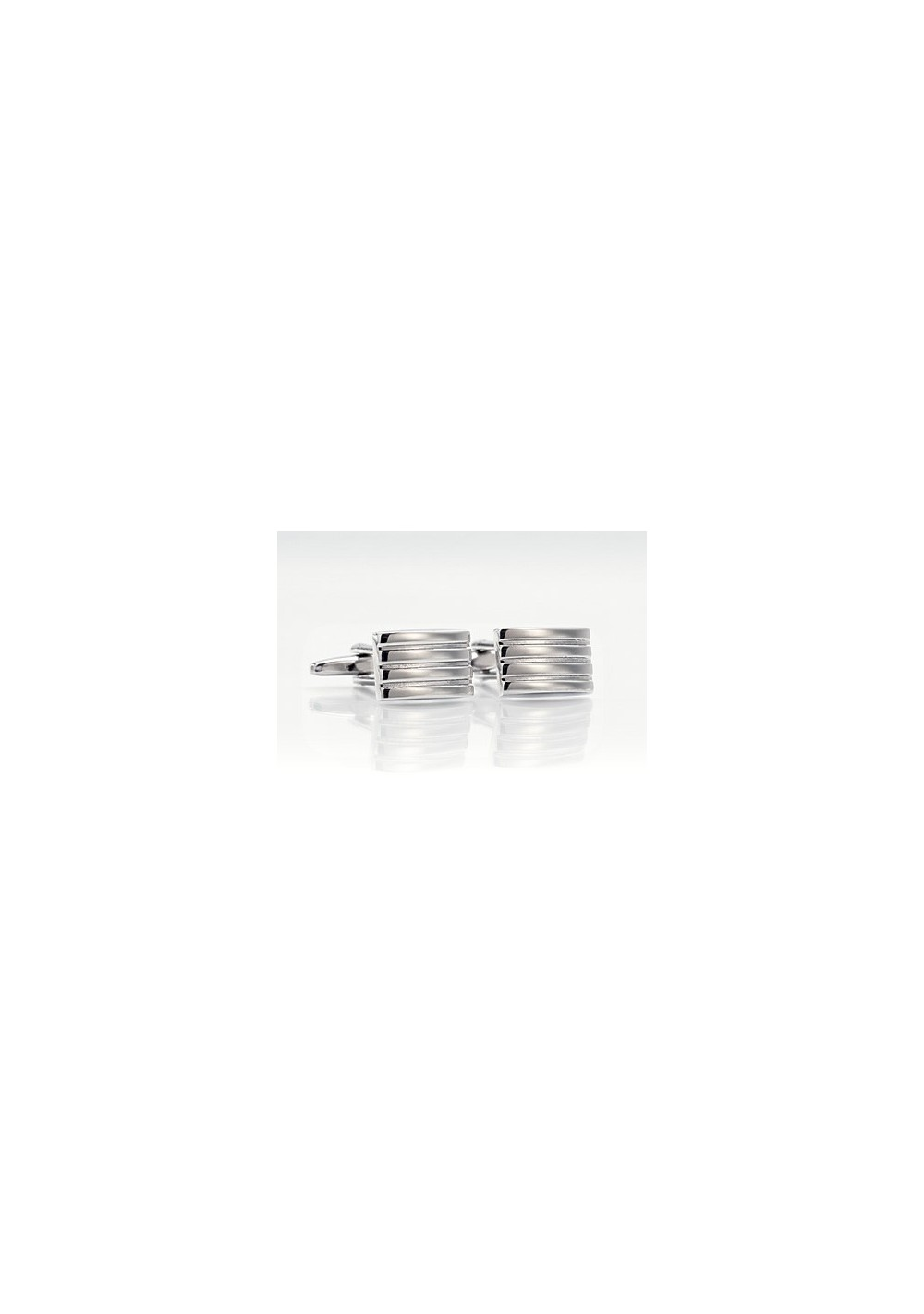 Silver Cufflinks - Classic Silver Cuffs