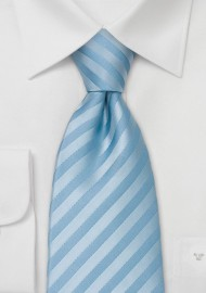 Solid Light Blue Necktie