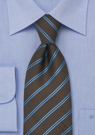 Chocolate Brown Necktie