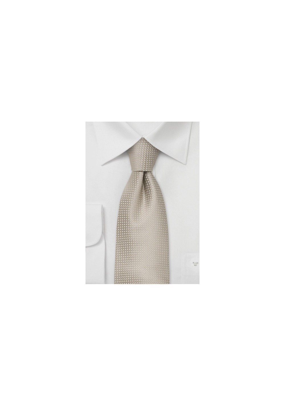 Elegant Summer Tie in Wheat-Tan Color