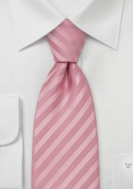 Mens Silk Tie in Rose-Pink