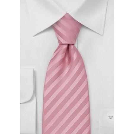 Mens Silk Tie in Rose-Pink