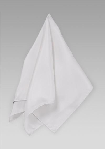 Silk Women's Scarf in White