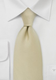 Cream Colored Kids Tie