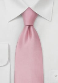 Light Pink Silk Necktie