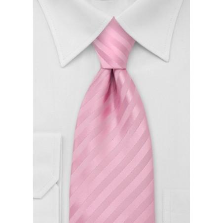 Mens Tie in Rose-Pink