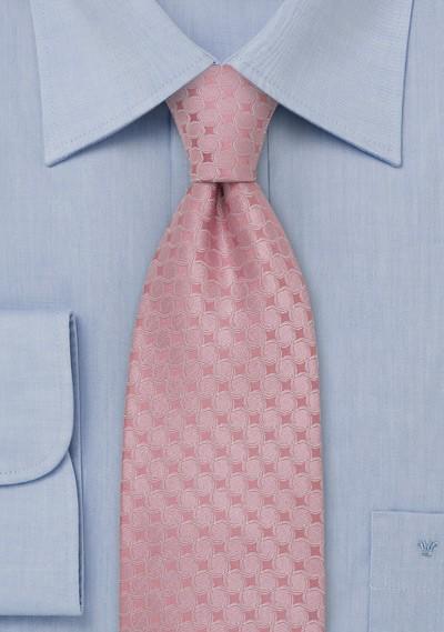 Pink Designer Tie by Chevalier