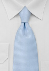 Light Blue Mens Necktie