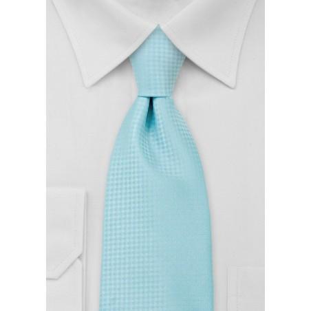Electric Blue Mens Necktie