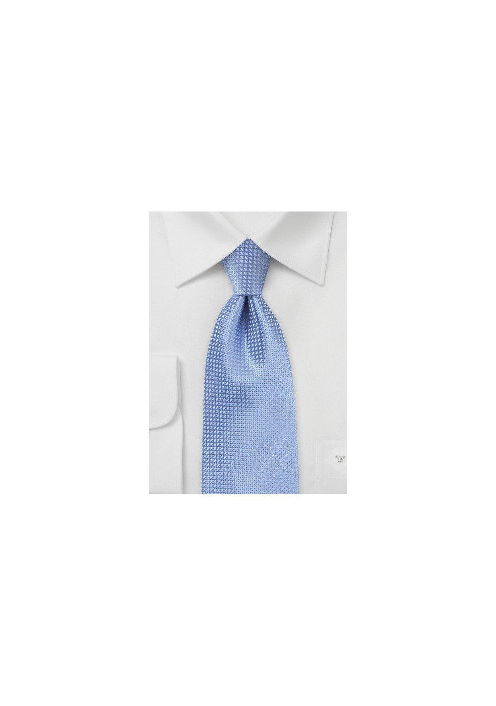 Sky Blue Kids Necktie