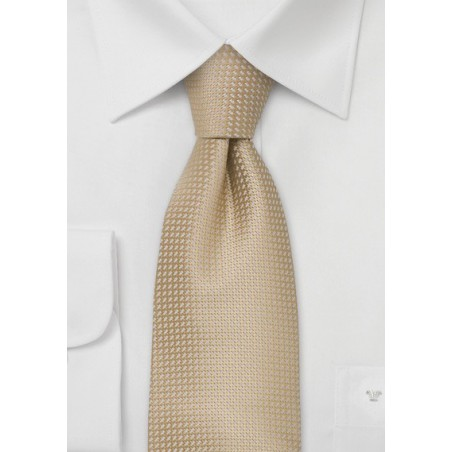 Light beige Colored Silk Kids Tie