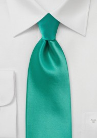 Bright Jade Green Necktie