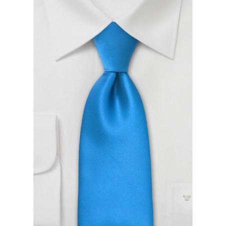 Solid Ice Blue Necktie