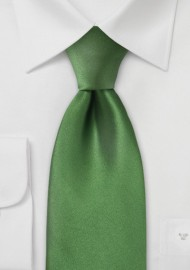 Rich Moss Green Silk Tie