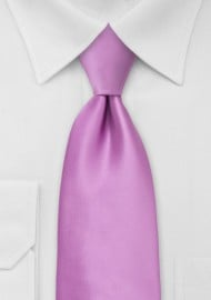 Lilac Rose Mens Necktie