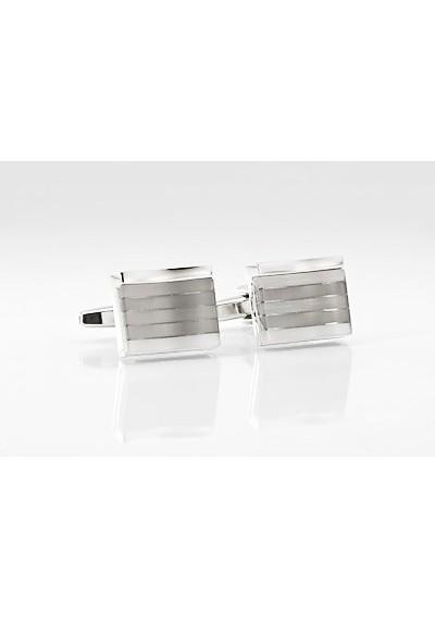 Elegant Silver Cuff Links
