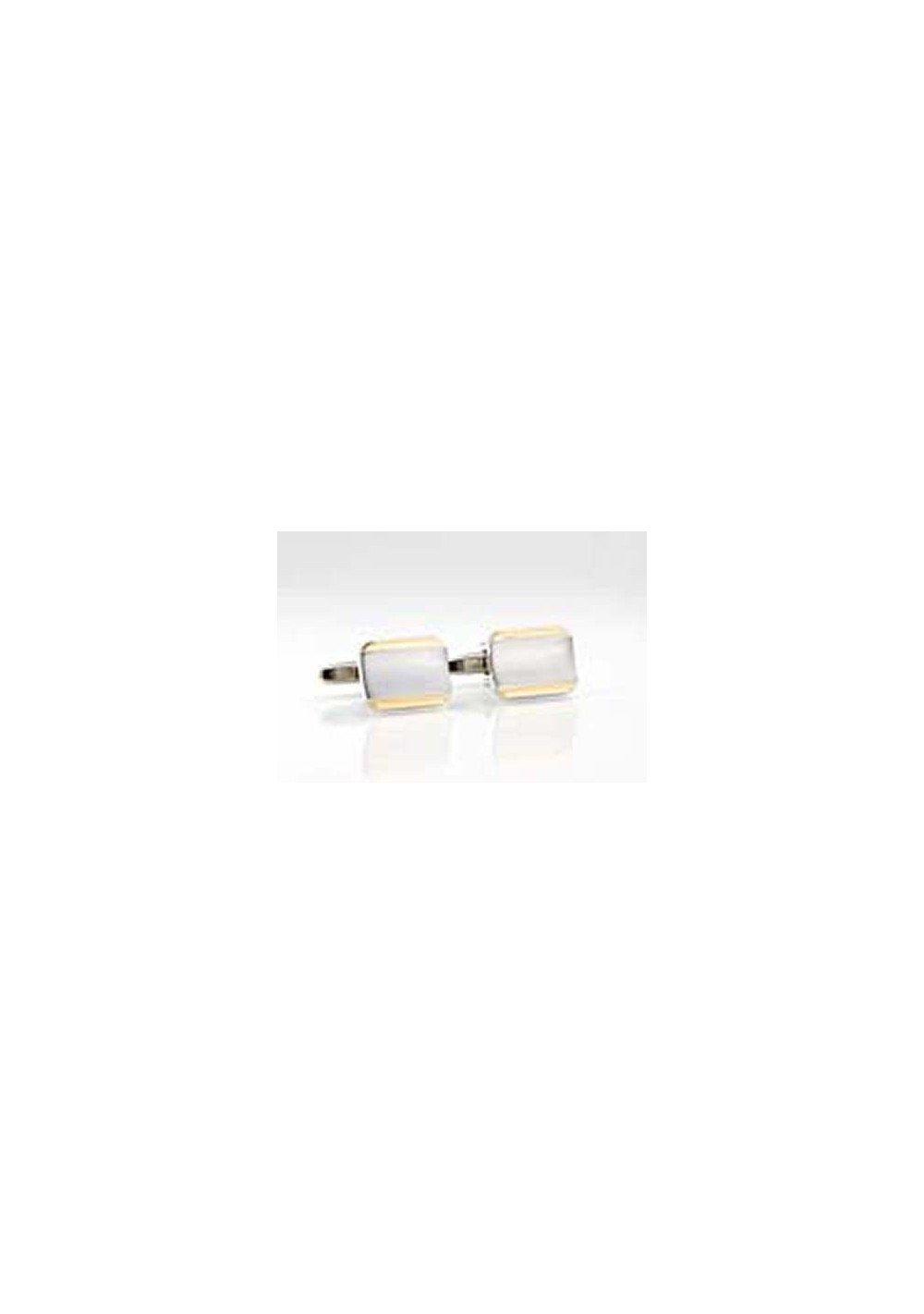 Classic Silver and Gold Cufflinks