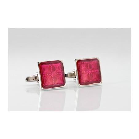 Vibrant Red Cufflinks