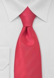 Watermelon Red Necktie