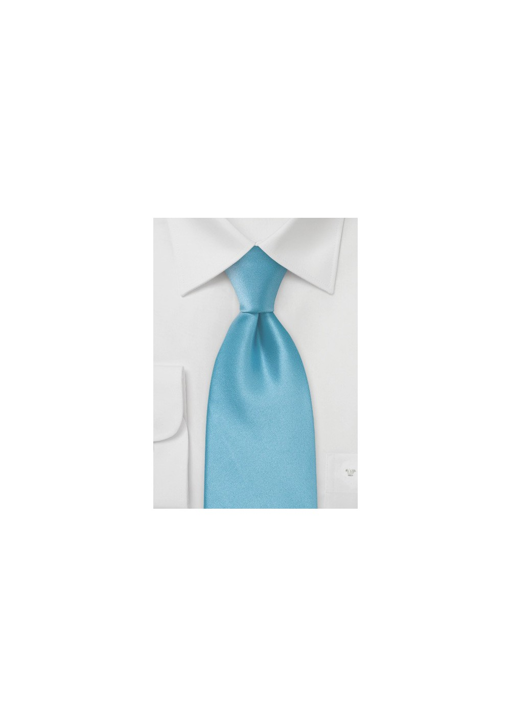Bright Malibu-Blue Silk Tie