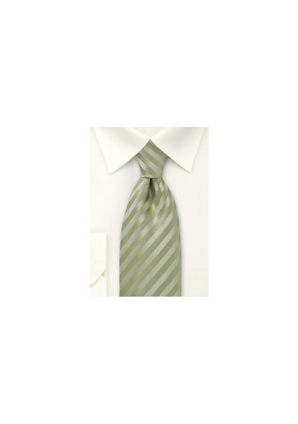 Light Pistachio Green Tie