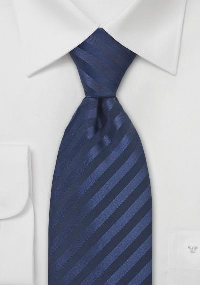 Dark Sapphire Blue Silk Tie