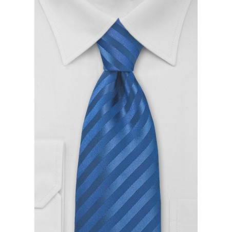 Horizon Blue Mens Neck Tie