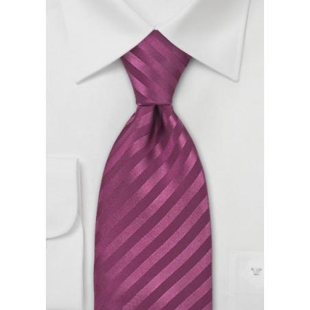 Wine Red Silk Tie
