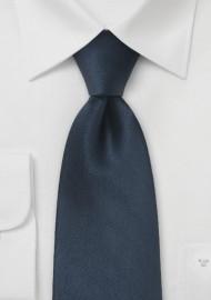 Dark Navy Blue XL Tie