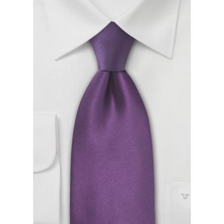 Violet Purple Kids Silk Tie