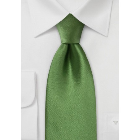 Rich Moss Green Kids Tie