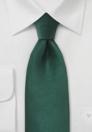 Bright Hunter Green Kids Tie