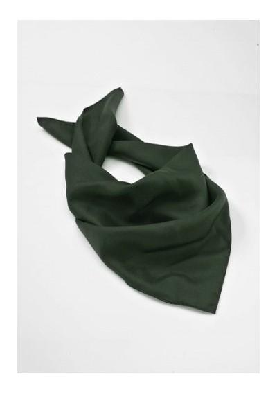 Dark Green Women's Silk Scarf