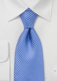 Cornflower Blue Silk Tie