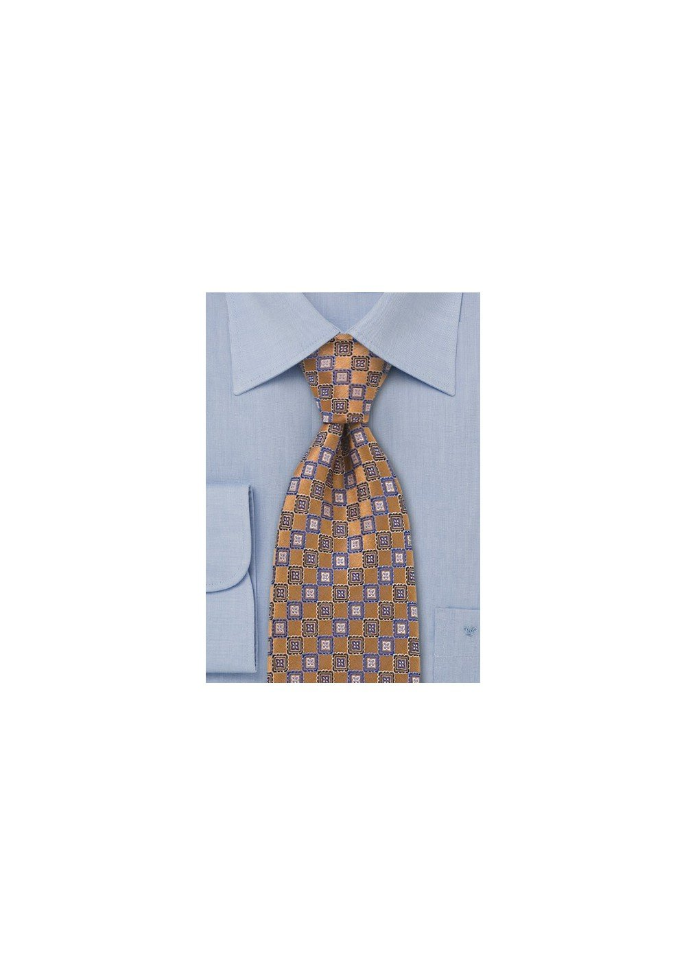 Burnt Orange Designer Tie